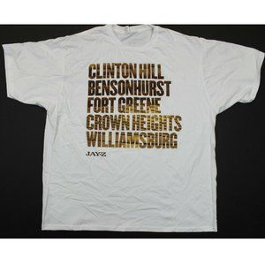 Jay-Z New York Brooklyn Neighborhoods Tee - 2XL